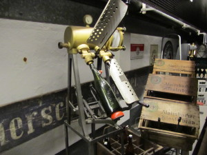 19th Century bottling machine