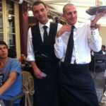 Waiters at the Cafe Chatlet XVI