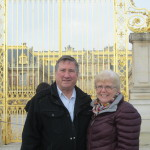 Mike and Pat February 2014 at the Chateaue Versailles