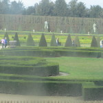 Gardens of the Chateau de Versailles winter 2014